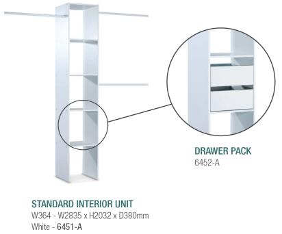 standard tower unit